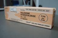 Naloxone hydrochloride. Photo by Intropin, CC BY 3.0 , via Wikimedia Commons