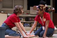 April Paul and Malaina Moore in PRINCIPAL PRINCIPLE. Photo by Timothy Moder.