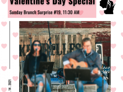 Sunday Brunch Surprise Concert #19 – Valentine's Day Special