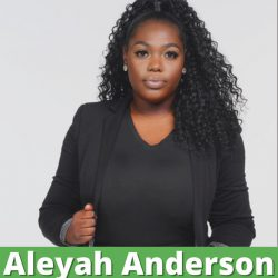 Aleyah Anderson. Photo from the campaign.