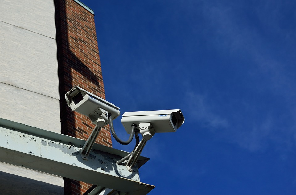 Security cameras. (Pixabay License). Free commercial use No photo credits required