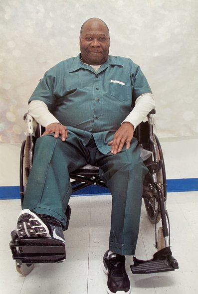 """Clarence Givens, 66, died of COVID-19 in December following an outbreak at Stanley Correctional Institution in Chippewa County, Wis. Givens was serving a 110-year sentence for delivering cocaine and heroin to an undercover informant, one of the longest sentences for a nonviolent drug conviction in the United States, according to Ashley Nellis, a research analyst for The Sentencing Project. Nellis called Givens """"the quintessential model"""" for other inmates during his 24 years in prison, adding that he received high performance marks at his jobs while maintaining a clean disciplinary record. Courtesy of Ashley Nellis"""