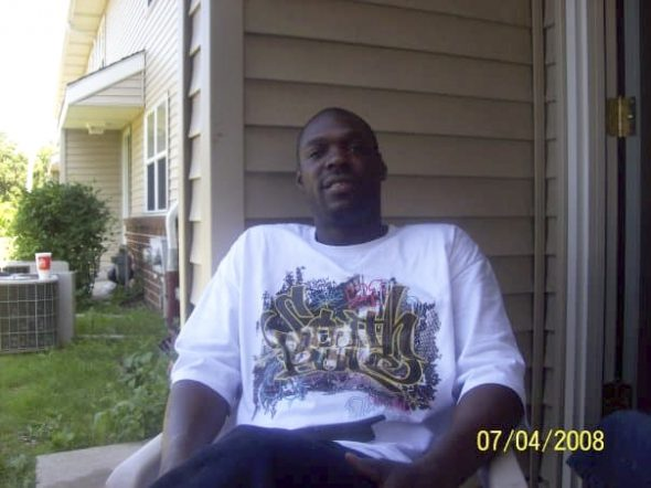 "Calvin Johnson, who grew up in Milwaukee, is shown in July 2008. The 52-year-old lived with high blood pressure and asthma and feared a COVID-19 outbreak at overcrowded Prairie du Chien Correctional Facility would kill him. In October 2020, he asked a judge to modify his 13-year sentence due to the pandemic. Johnson died of COVID-19 the next month. His family hopes that the state will implement measures to protect inmates from the same fate. ""He shouldn't have had to die like that,"" said Sherita Johnson, Calvin's niece. Courtesy of Sherita Johnson"