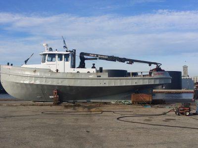 Port Milwaukee Tugboat Sinks
