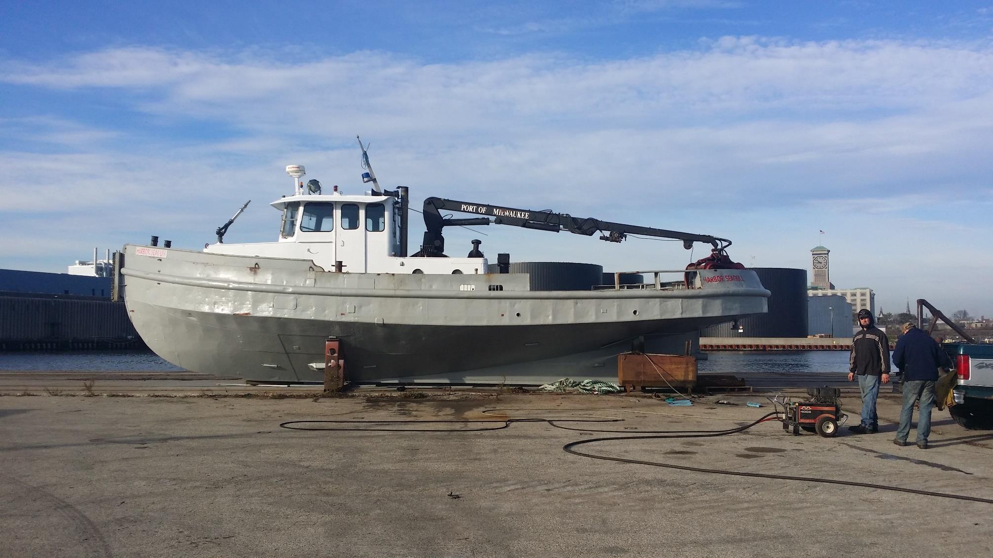 Harbor Seagull. Photo courtesy of the City on Milwaukee.