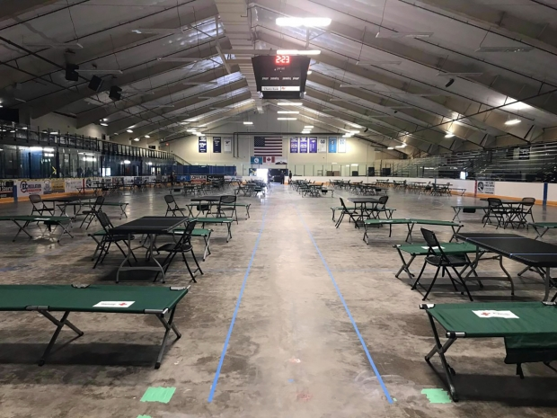 Sojourner House of Eau Claire, which is operated by Catholic Charities of La Crosse, has opened an additional shelter to ensure social distancing for Eau Claire's homeless population during the coronavirus pandemic. Photo courtesy of Sojourner House of Eau Claire