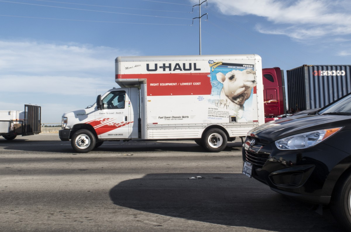U-Haul truck. Photo by Robert Couse-Baker. (CC BY 2.0) https://creativecommons.org/licenses/by/2.0/