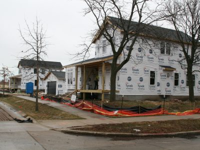Friday Photos: New Homes Take Shape in Urban Subdivisions
