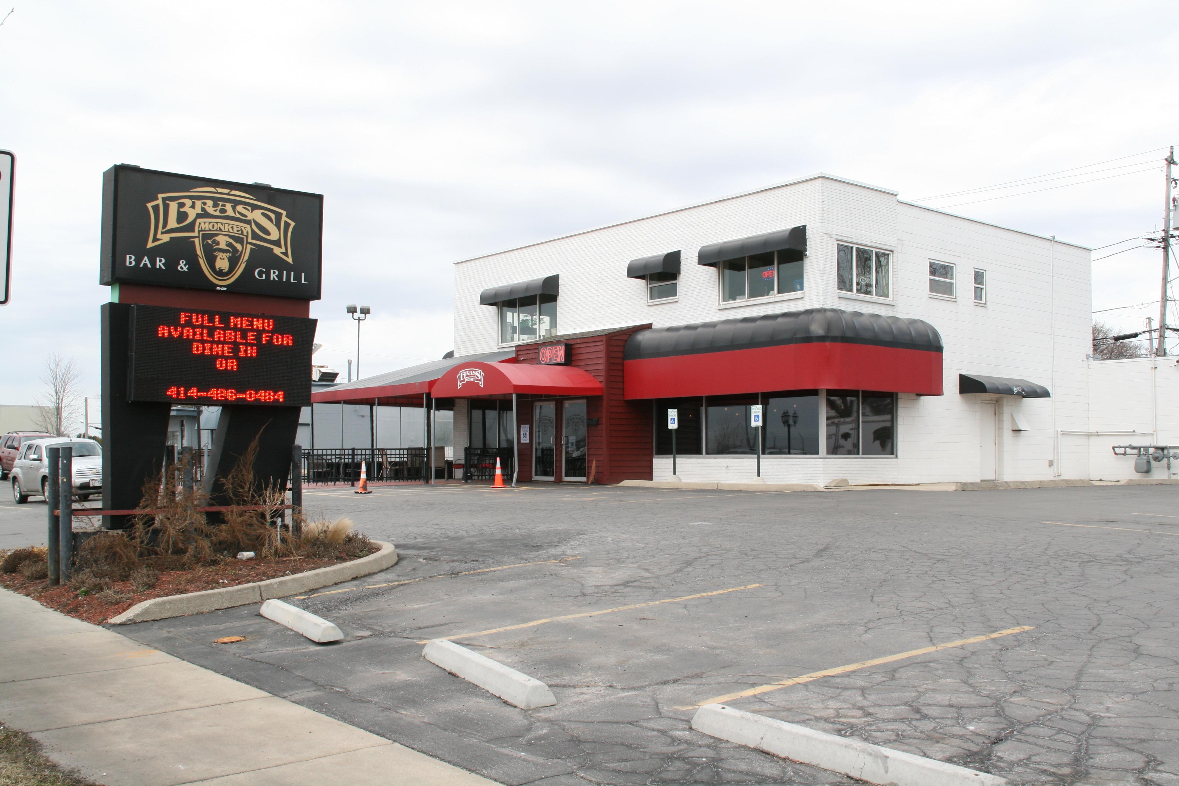 Brass Monkey Bar & Grill, 700 E. Layton Ave. Photo by Jeramey Jannene.