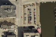 1124 N. Old World Third St. parking lot in 2018. Image from City of Milwaukee land management system.