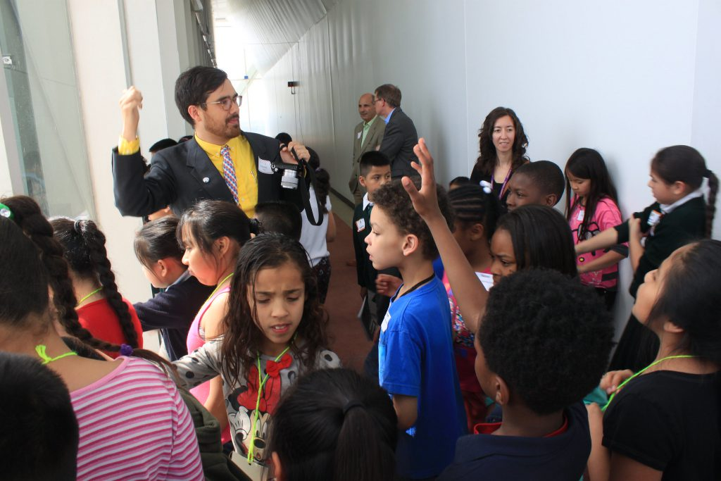 Before the pandemic, as part of the STEAM curriculum, students would take field trips organized by SHARP Literacy. STEAM stands for science, technology, engineering, art and math. File photo by Matt Wisla/NNS.