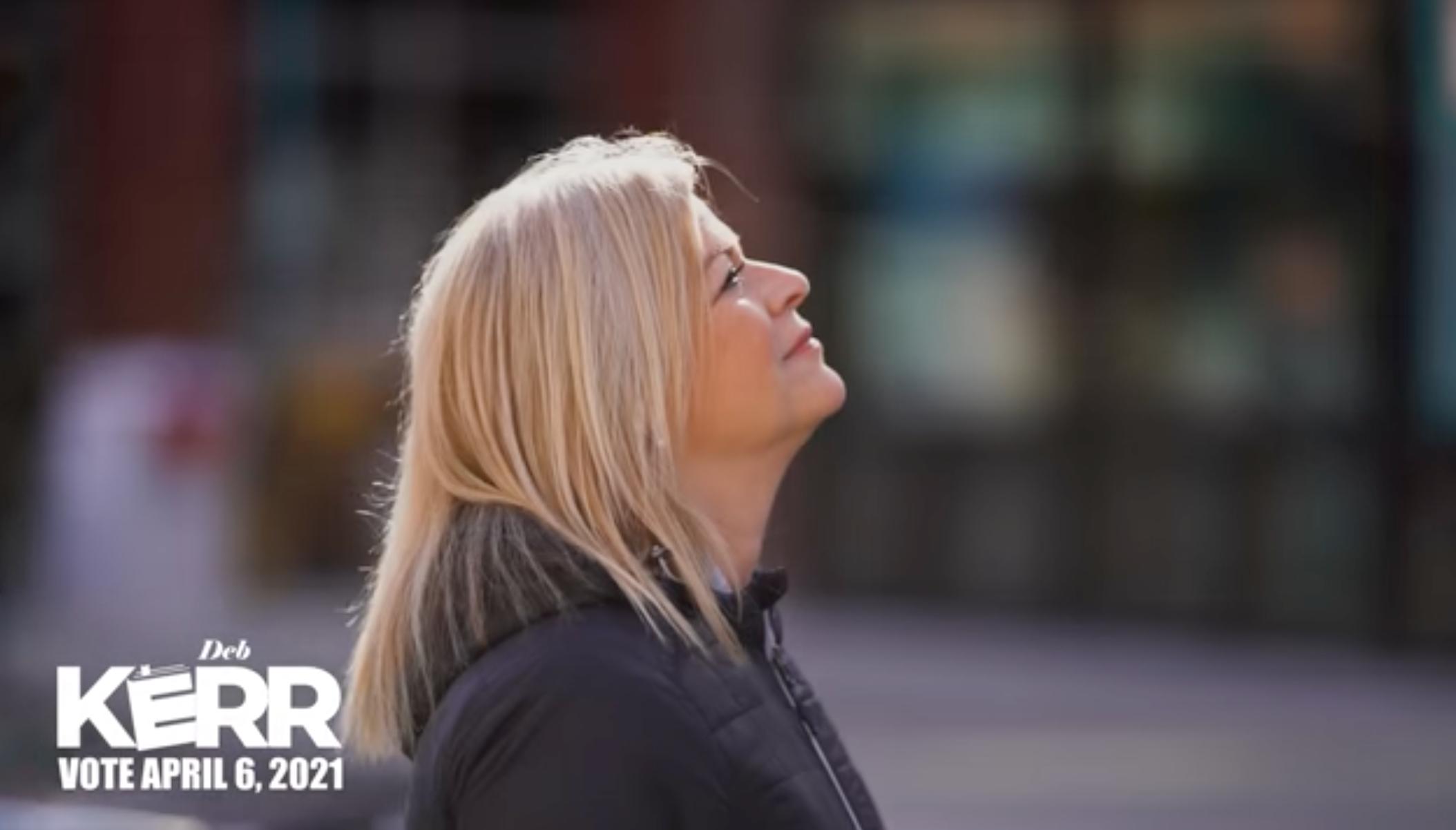 Deb Kerr Releases TV Ad
