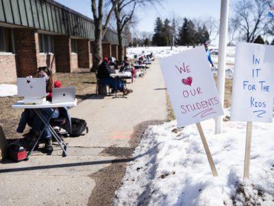 Teacher Vaccinations Uneven So Far