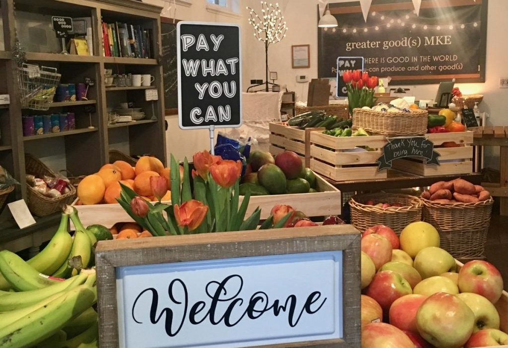 """Greater Good(s) MKE offers fresh produce at """"pay-what-you-can"""" price. Photo provided by Gina Nygro/NNS."""