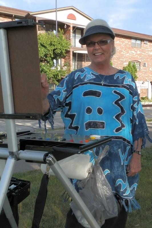 Water's Edge Artists Tribute to Kitty Lynne Klich