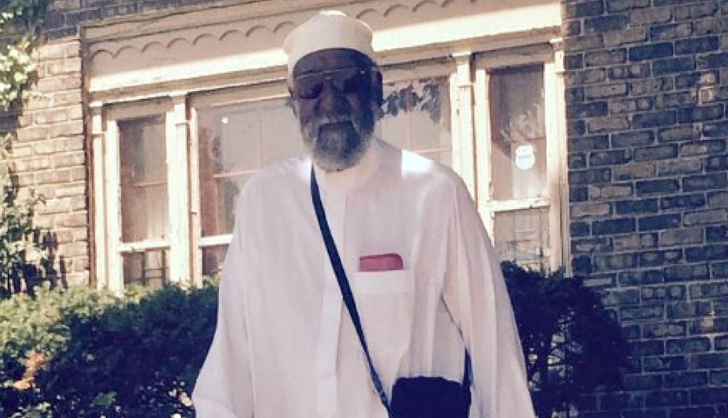 Shaykh Ayyub Al-Amin served as a leader in Milwaukee's Muslim community for over 40 years. Photo provided by the family of Shaykh Ayyub Al-Amin.