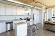 Corner unit at Timber Lofts. Image provided.