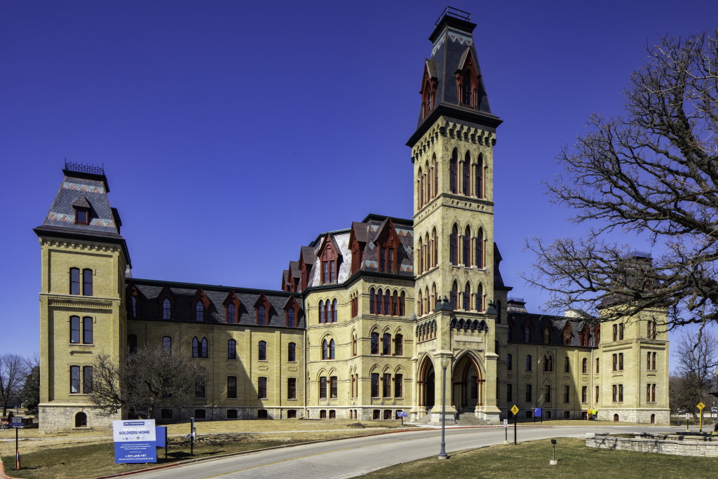 Old Main. Photo by Ryan Hainey Photography.