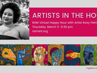 Racine Art Museum Presents a Virtual Happy Hour Featuring Guest Artist Rosy Petri