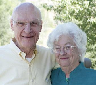 Peter and Patricia Frechette. Photo courtesy of Marquette University.