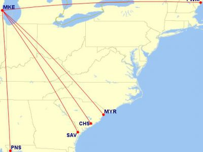 United Adds Nonstop Service to Five Great Summer Destinations