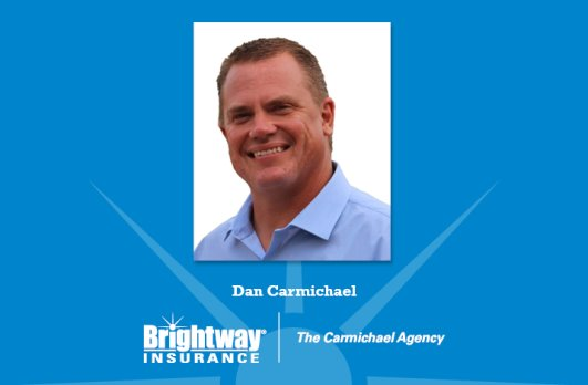 Dan Carmichael earned an award for leading the top-selling Brightway Agency in the Midwest Region.