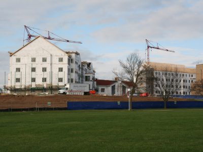 Friday Photos: Trinity Woods Development Takes Shape on Mount Mary Campus