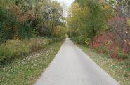 Oak Leaf Trail - Zip Line. Photo taken October 20th, 2020 by Jeramey Jannene.