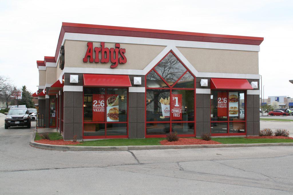 Arby's at 115 W. Oklahoma Ave. Photo by Jeramey Jannene.