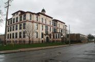 Phillis Wheatley School in April 2021. Photo by Jeramey Jannene.