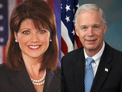 """Rebecca Kleefisch & Ron Johnson Share Stage With Speaker Who Called Capitol Attack """"Staged"""""""