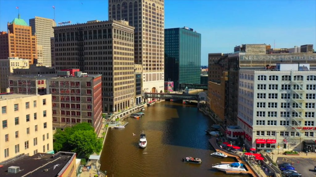 414 (New) Day screenshot. Image from Imagine MKE and Milwaukee Downtown.