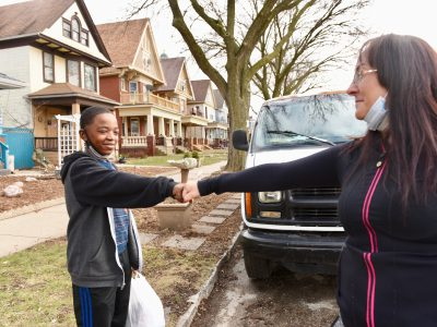 Milwaukee's 'Food Fairy' Keeps Giving