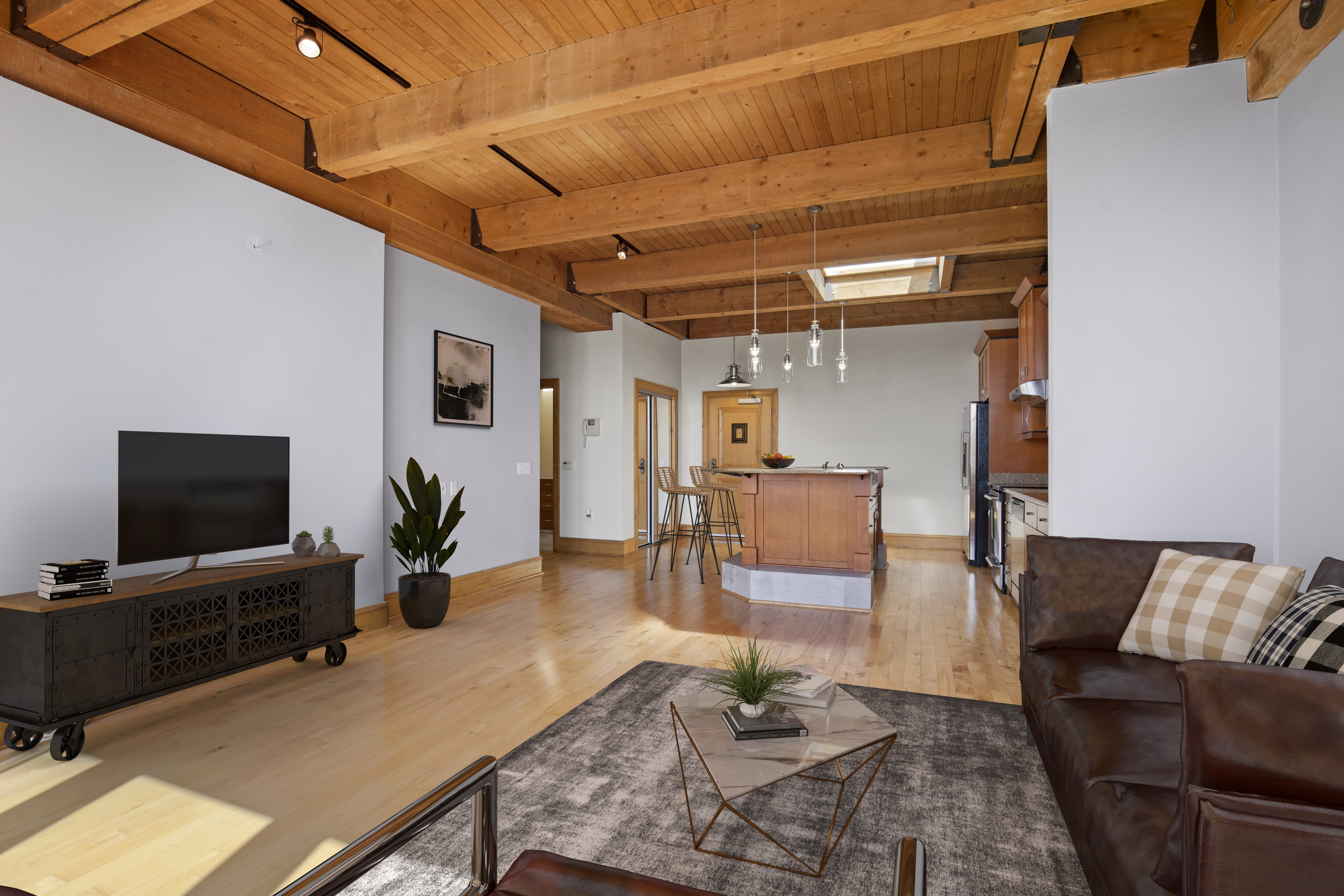 130 S. Water St., #408. Photo courtesy of Corley Real Estate.