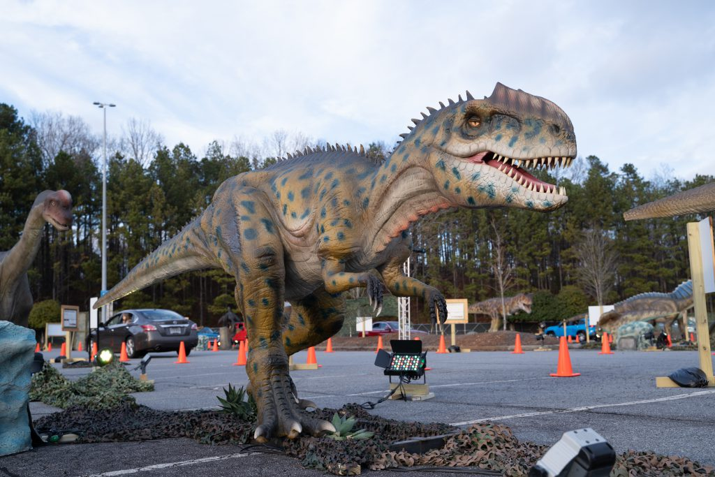 Dino Safari 2021. Photo by Imagine Exhibitions.
