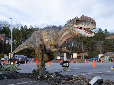 Entertainment at a Distance: Go On a Dinosaur Safari at the State Fair Grounds