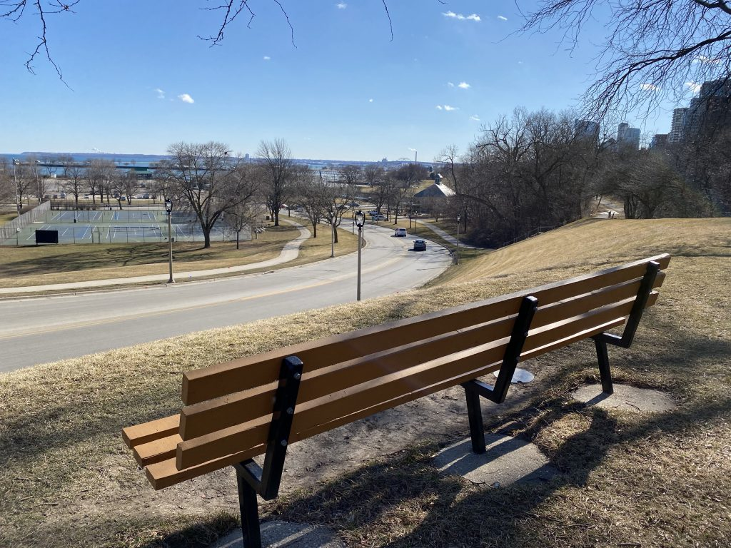 The view from McKinley Hill. Photo taken March 11th, 2021 by Cari Taylor-Carlson.