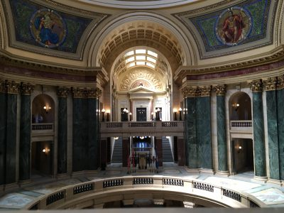 The State of Politics: Wisconsin Governments Getting $19.9 Billion In Federal Aid