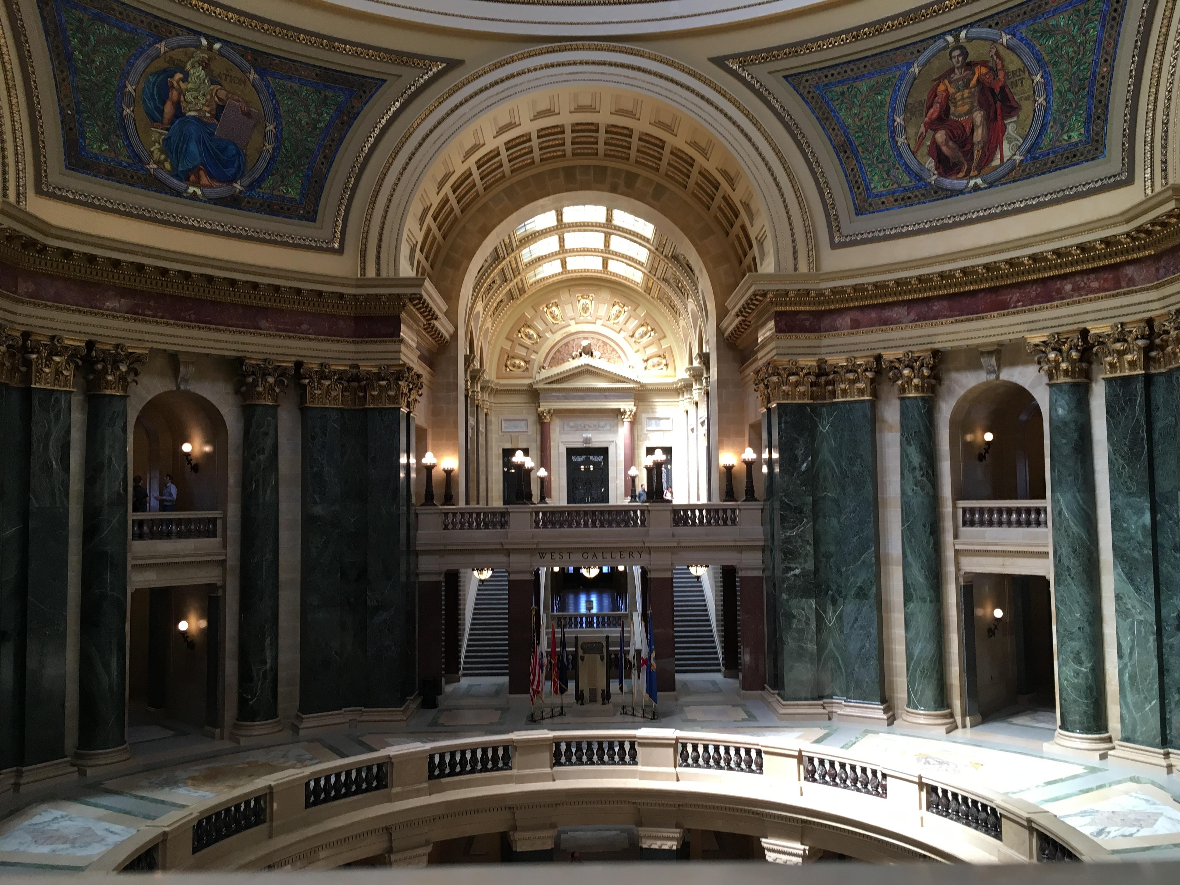 Wisconsin State Capitol. Photo by Mariiana Tzotcheva.