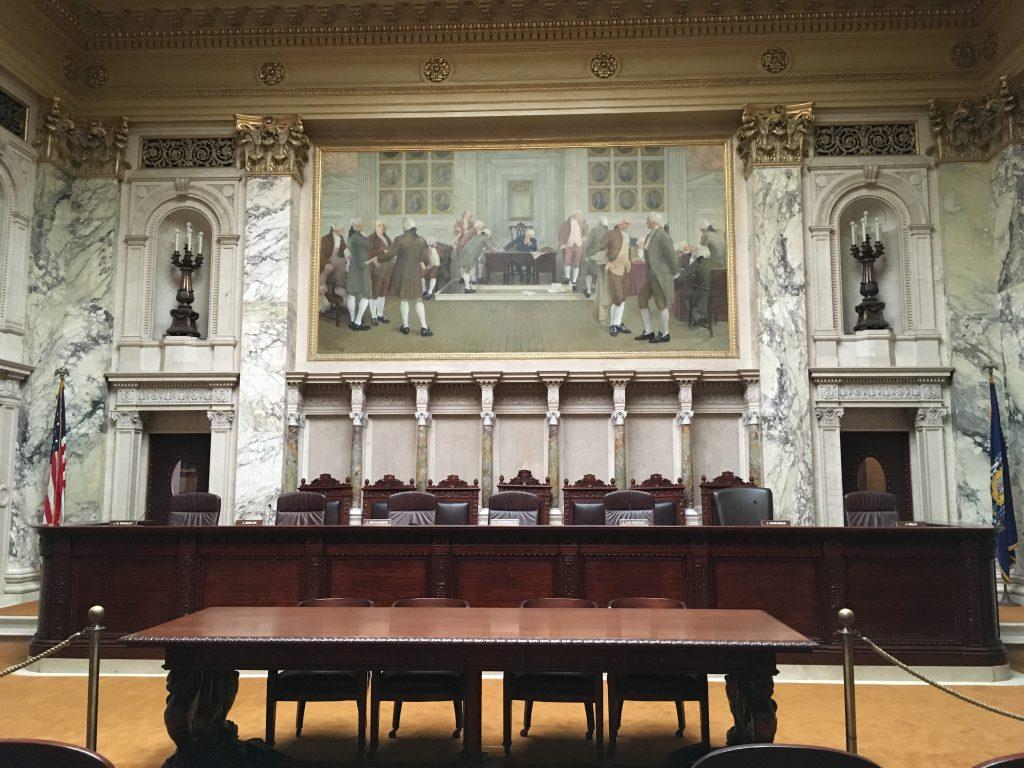 Wisconsin Supreme Court. Photo by Mariiana Tzotcheva.