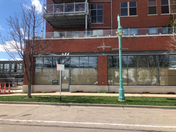 577 E. Erie St. Photo taken April 15th, 2021 by Jeramey Jannene.