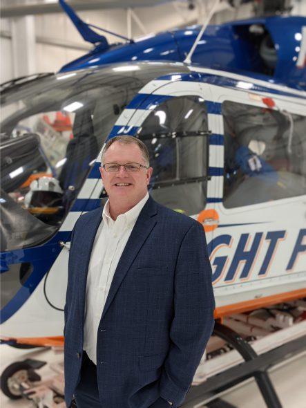 Leif Erickson. Photo courtesy of Flight for Life.