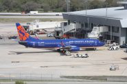 Sun Country Airlines jet. Photo by Railfan99, CC BY-SA 4.0 , via Wikimedia Commons