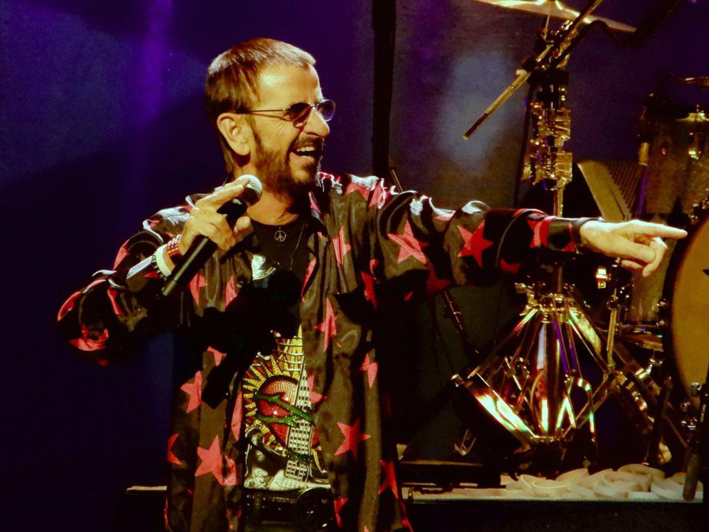 Ringo Starr. Photo by slgckgc, CC BY 2.0 , via Wikimedia Commons