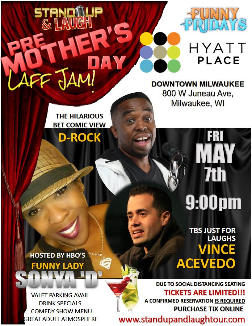 Pre-Mothers Day Laff Jam