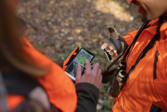 The DNR's Hunt Wild app provides hunters with essential resources and information while out in the field. / Photo Credit: Wisconsin DNR