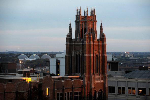 Marquette Hall. Photo courtesy of Marquette University.