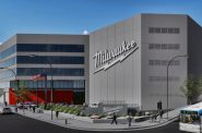 Milwaukee Tool rendering for 501 W. Michigan St. Rendering by Stephen Perry Smith.