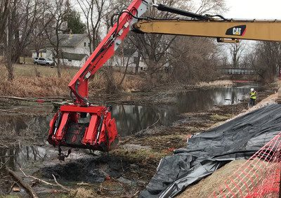 DNR Begins Dredging And Cleanup Of Three-Quarter Mile Segment Of Portage Canal