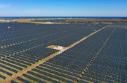 The Two Creeks solar plant in Manitowoc County went online in November. With half a million solar panels, the solar farm can provide enough power for 33,000 homes. Photo courtesy of Wisconsin Public Service.